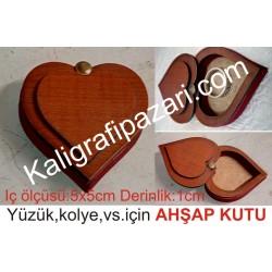 eva süngerli kalp kutu
