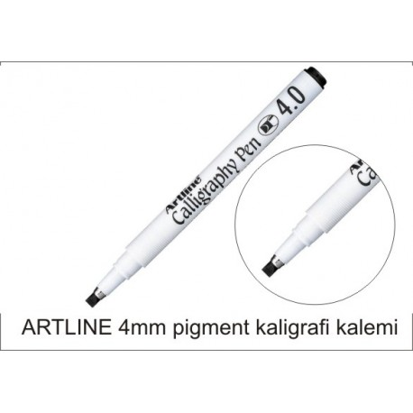 Artline 4mm kaligrafi kalemi