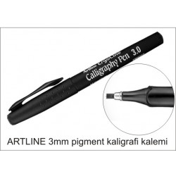 Artline 3mm kaligrafi kalemi