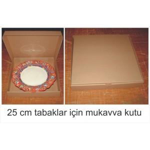 25cm. lik mukavva tabak kutusu